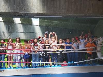 Седмица на спорта в лятното училище на ЧСУ Аз съм българче